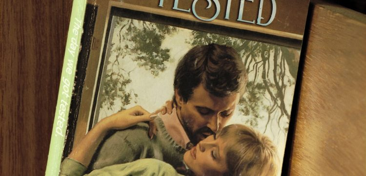 Book cover of a romantic novel